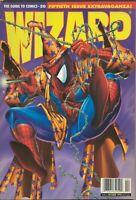 ORIGINAL Vintage Oct 1995 Wizard Magazine #50 Spiderman
