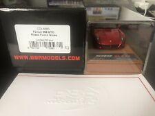 1:43 BBR Deluxe Ferrari 599 GTO Rosso Fuoco No MR Feeling43 Bosica