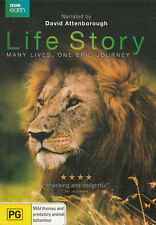 David ATTENBOROUGH's LIFE STORY Brand New but UNSEALED 2-DVD Set Region 4