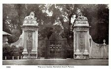 1920's THE LIONS GATE HAMPTON COURT PALACE MIDDLESEX POSTCARD