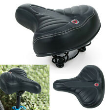 Comfort Extra Wide Big Bum Bike Bicycle Cycling Gel Cruiser Soft Pad Saddle Seat