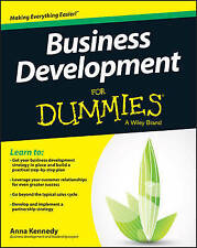 Business, Economics & Industry Paperback Business Development for Dummies Books