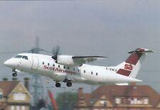 Scot Airways , Dornier 328 - 110 , Ansichtskarte - ungelaufen