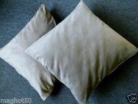 2 piezas fundas para cojines Nicki microfibra cojín de decoración 50 x 50 cm.