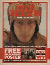 Jimmy The Hoover on Smash Hits Magazine Cover 1983  The Cure Adam Ant Gary Numan