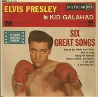 Elvis Presley - Kid Galahad (soundtrack EP) 1962 7 inch vinyl EP