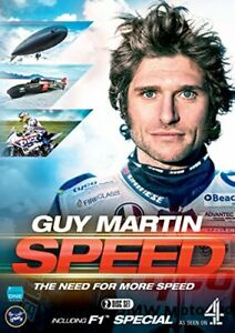 Guy Martin: Speed 3 and F1 Special [DVD][Region 2]