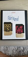 1994 FLAIR MARVEL 150 BASE CARD SET **MINT/NM** W/BINDER