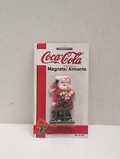 NEW Coca-Cola Magnet Greetings Christmas Santa 1995