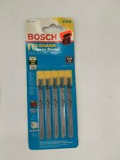 Bosch U101B 4 In.10 TPI Variable Pitch Clean for Wood U-shank Jig Saw FREE SHIP