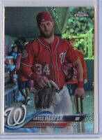 2018 Topps Chrome BRYCE HARPER Image Variation SP - Philadelphia Phillies