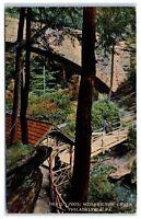 Early 1900s Devil's Pool, Wissahickon Creek, Philadelphia, PA Postcard