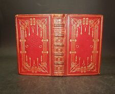 1852 Longfellow HYPERION and KAVANAGH Lovely Leather Binding