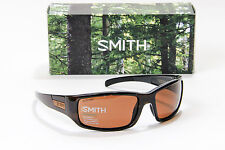 NEW SMITH PROSPECT POLARIZED SUNGLASSES BROWN STRIPE FRAME / COPPER LENS