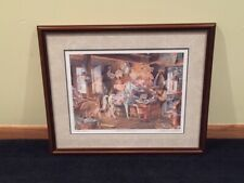 """Charles L. Peterson """"Carousel Horses"""" Encore Edition - 1998 Release"""