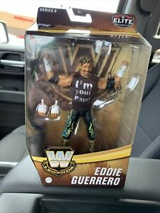 WWE Wrestling Mattel Elite Legends Series 8 Eddie Guerrero Figure New
