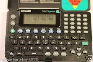 RARE OLIVETTI D200 ORGANIZER MADE IN 1997
