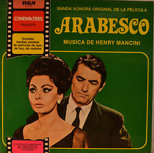 "OST - SOUNDTRACK -ARABESCO - HENRY MANCINI 12"" LP (L922)"
