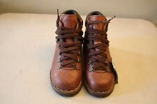 Women's Kolon Sport Brown Leather Hiking Boots Size 6
