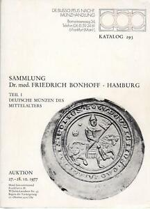 Deutsche Münzen des Mittelalters  Brakteaten Sammlung Dr. med. Friedrich Bonhoff