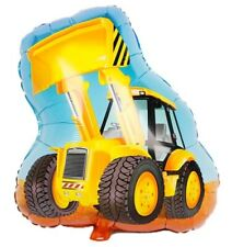 """Large JCB digger foil balloon 24"""" or 60cm free shipping construction excavator"""