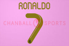 C.Ronaldo #7 2011-2012 Real Madrid Home/Awaykit Nameset Printing