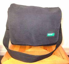 United Colours Of Benetton Black Messenger Satchel Cross Body Shoulder Bag