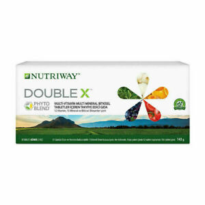Amway Nutriway & Nutrilite Double X Phyto Blend  31 day Product Multi-Vitamin