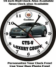 2013 CADILLAC CTS-V LUXURY COUPE WALL CLOCK-FREE USA SHIP!