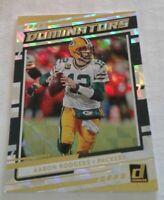 2020 Donruss Dominators, Aaron Rodgers Green Bay Packers