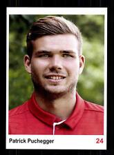 Patrick Puchegger Autogrammkarte Bayern München II 2016-17