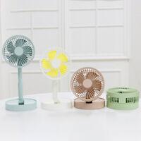 KQ_ Portable Summer Desktop Mini USB Cooling Fan Folding Home Office Air Cooler