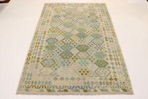 Nomads Kelim Fine Unique Persian Carpet Oriental Rug 3,07 X 1,92