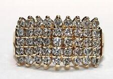 Ladies 1.10ct.Diamond Ring 14k.Gold NEW