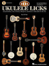 101 Ukulele Licks by Lil' Rev (Book/Online Audio) - Now @ Half Price!