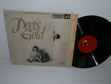 VARIOUS POETRY Poet's Gold: Helen Hayes,Raymond Massey,T.Mitchell LP RCA LM-1812