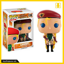 Street Fighter Cammy Pop Funko