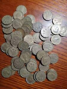 Great Britain (UK)  1940's-1950's Three Pence(VF-EF)