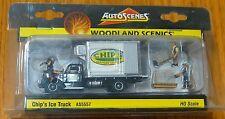 Woodland Scenics HO #5557 Chip's Ice Truck