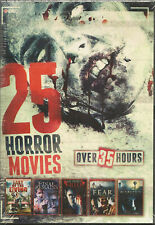 25 Horror Movies Pack on (DVD) - Region 1 - NEW