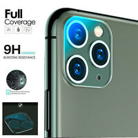 For iPhone 11 Pro Max 15D Camera Lens Tempered Glass Protector Full Cover Film