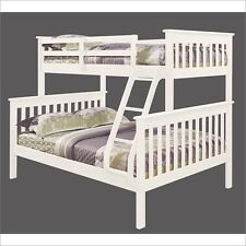 Twin over Full Size Bunk Beds with Trundle or Storage Drawers
