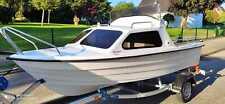 Neue Motorboot India 431 Kajütboot