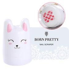 3Pcs Nail Art Stamper Cute Rabbit Design Silicone Head With 2 Born Pretty Set
