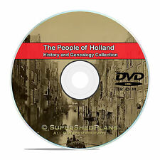 Holland People Cities Family Tree History and Genealogy 80 Books DVD CD B22