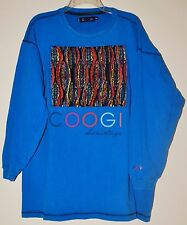 COOGI Long Sleeve T-Shirt - Royal Blue - Size: 3XL