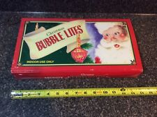 Vintage Midwest Christmas Bubble Strand Lights/Lites NIB