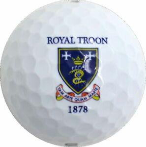ROYAL TROON (2016 Open Championship) Logo - Wilson - GOLF BALL