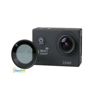 Filtro Cpl Polarizzatore + Nd Densita Obiettivo Per SJCAM SJ7000 Sport Action