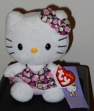 Ty HELLO KITTY LIBERTY Beanie Baby (UK Exclusive) ~ MWMTS (PLEASE READ)